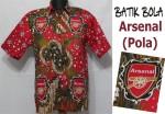Jual Batik Bola Solo Arsenal Berkualitas