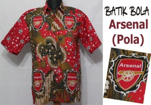 butik batik bola solo arsenal berkualitas