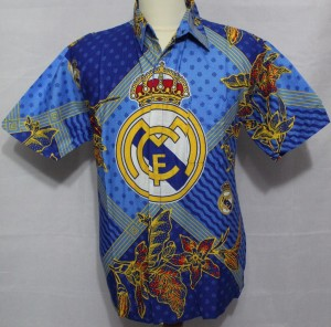 jual batik bola real madrid