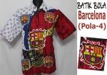 jual batik bola barcelona asli solo