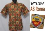 jual batik bola as roma asli solo