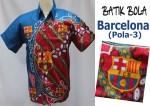 Jual Batik Bola Barcelona Berkualitas