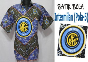 Jual Batik Bola Inter Asli Solo