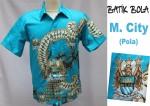 Jual Batik Bola Manchester City di Yogyakarta