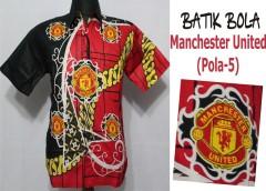 Jual Batik Bola Solo Manchester United Berkualitas