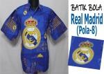 Jual Batik Bola Solo Real Madrid Berkualitas