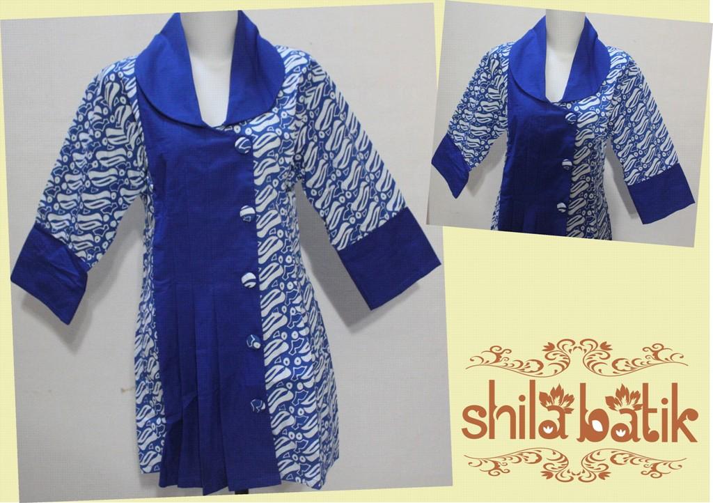 10 Model Baju Batik Kombinasi Untuk Wanita Masa Kini Baju Gamis