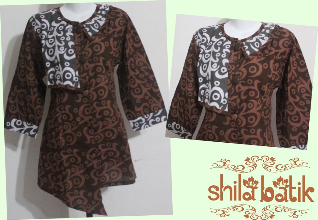 blus batik kerja unik online  hubungi 083840387800  jual batik