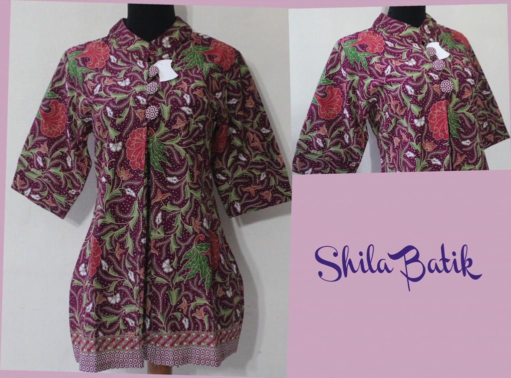Blus Batik Kerja Jual Batik Online Murah Jual Baju