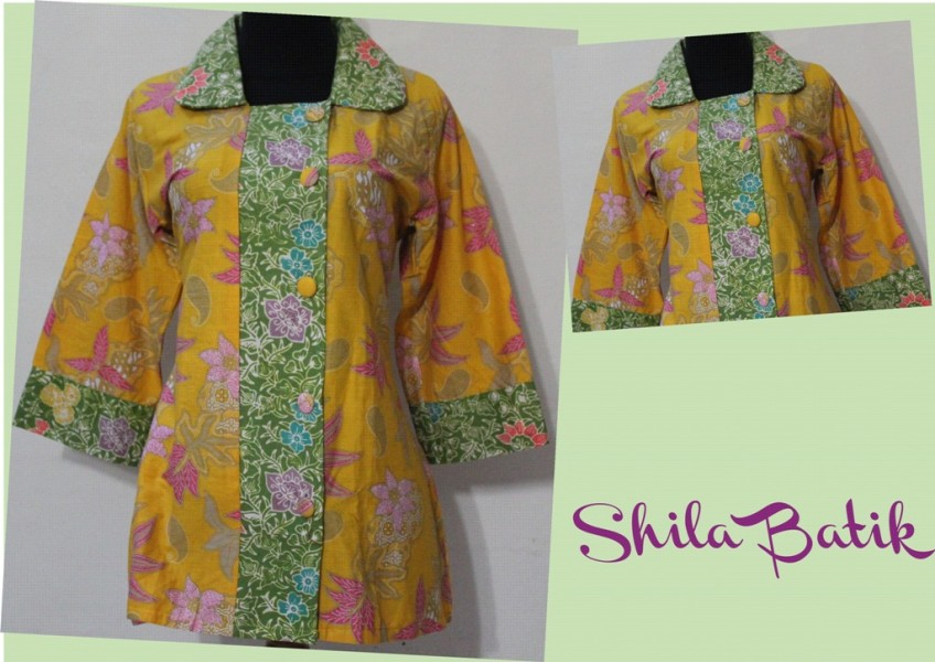 blus batik kerja | jual batik online murah | jual baju ...