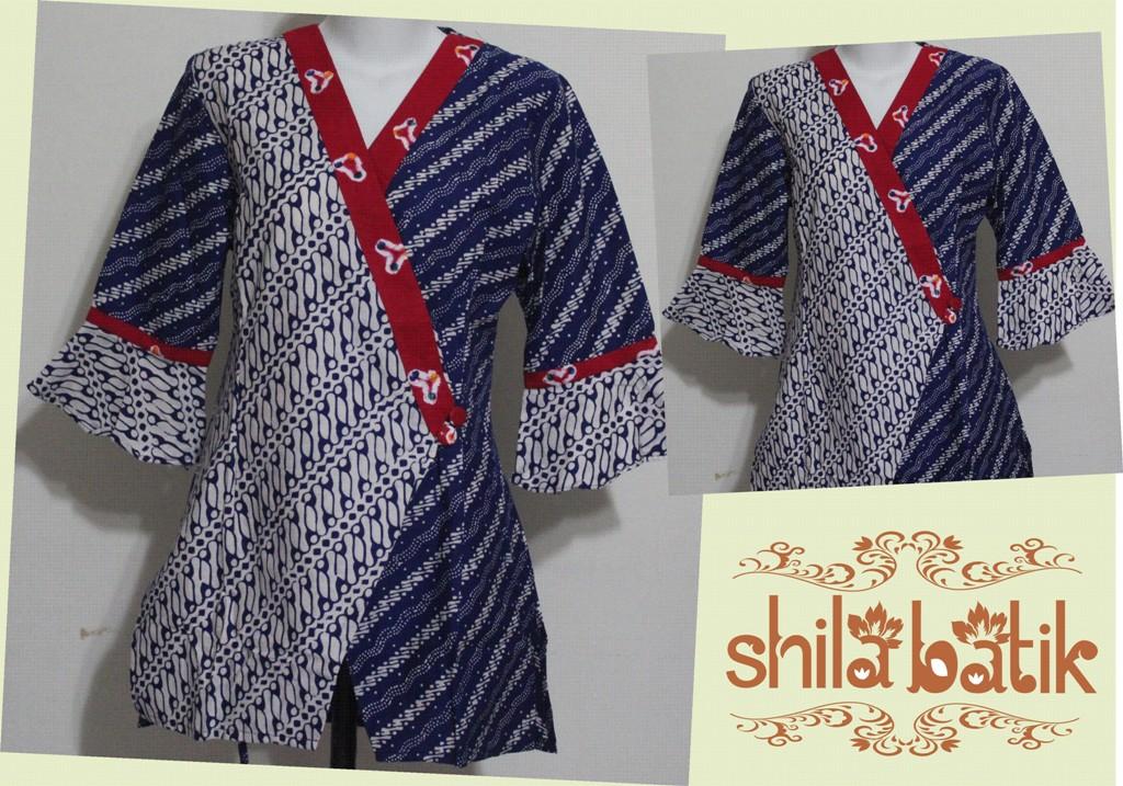 Blus Batik Model Kimono Unik Hubungi