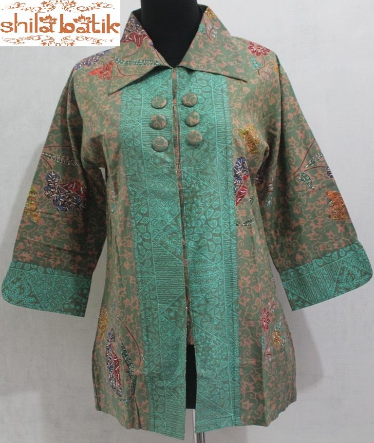 Batik Tulis Dress: Blus Batik Tulis Untuk Ke Kantor