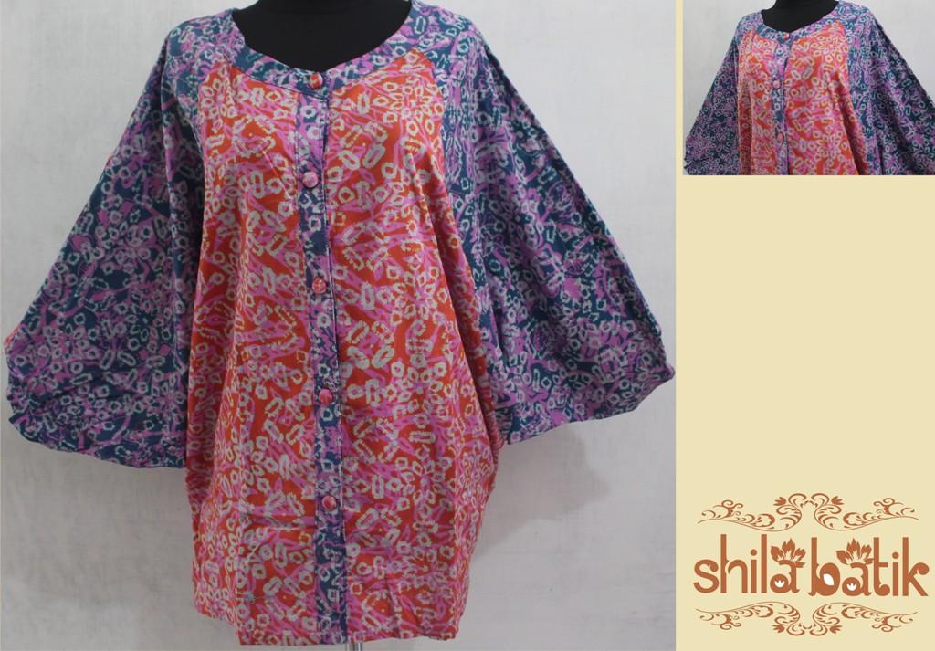 Baju Batik Cerah Ukuran Besar Big Size 3l Jumbo Untuk Pria Baju