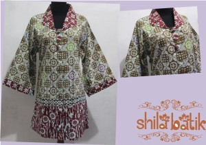 blus batik wanita ukuran jumbo - hubungi 0838.403.87800