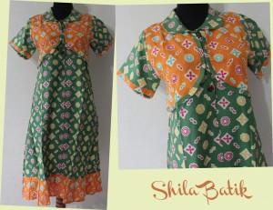 dress batik abg