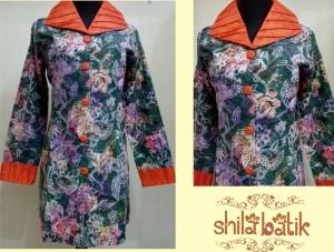 dress batik opnasel lengan panjang - hubungi 0838.403.87800