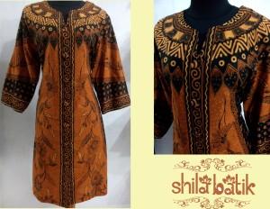 dress batik sinaran sogan - hubungi 0838.403.87800