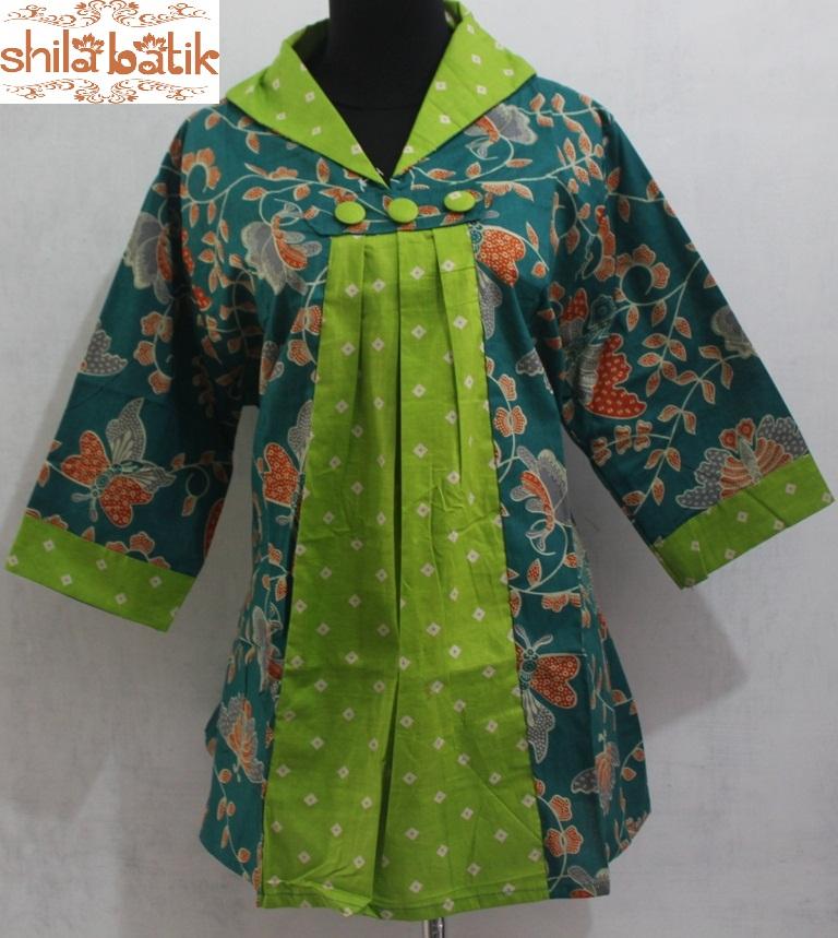jual baju batik kerja wanita modern  hubungi 083840387800
