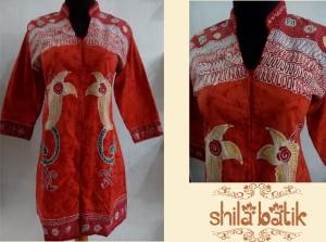 jual dress batik kantor - hubungi 0838.403.87800